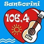 Santorini 106_4 logo